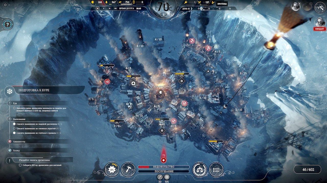 Frostpunk Советы Прохождение