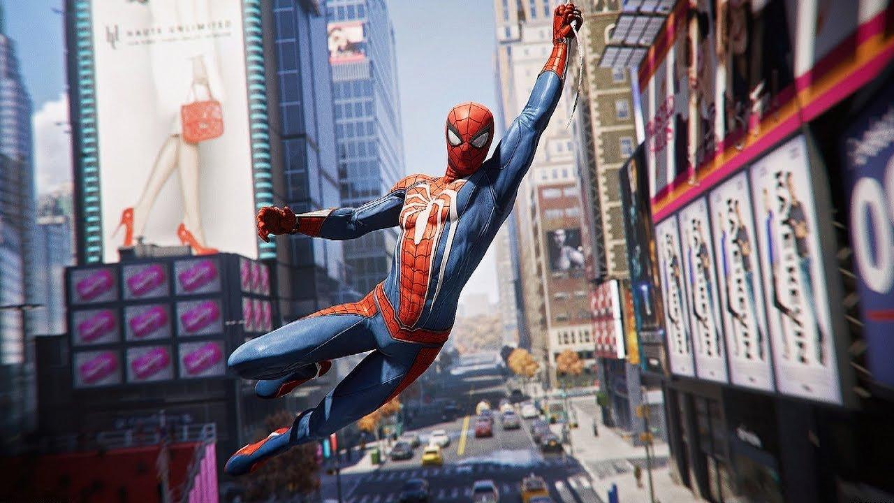 Spider Man 2018 Game Человек Паук игра 2018