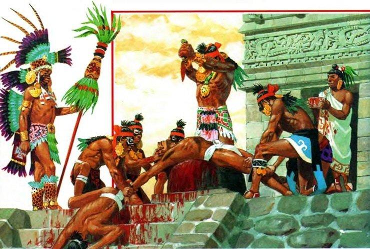 ацтеки империя ацтеков миштеки отвратительные мужики disgusting men