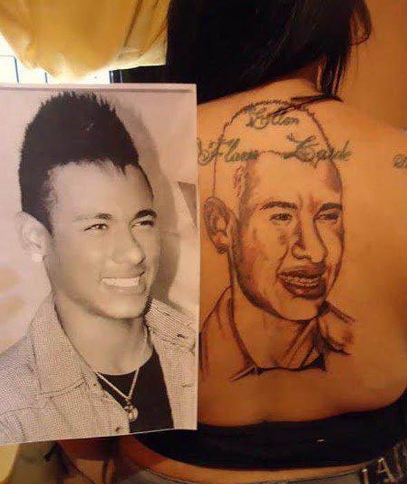 отвратительные татуировки футбольных фанатов мужики disgusting men