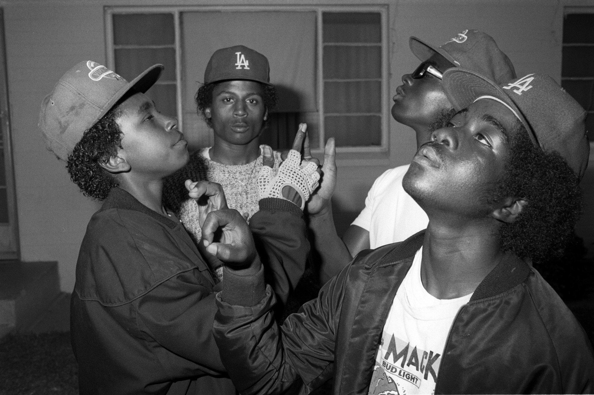 банды лос-анджелеса 80-е 90-е