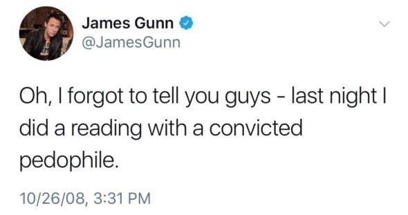 понелельник начинается с дичи джеймс ганн твиты отвратительные мужики disgusting men