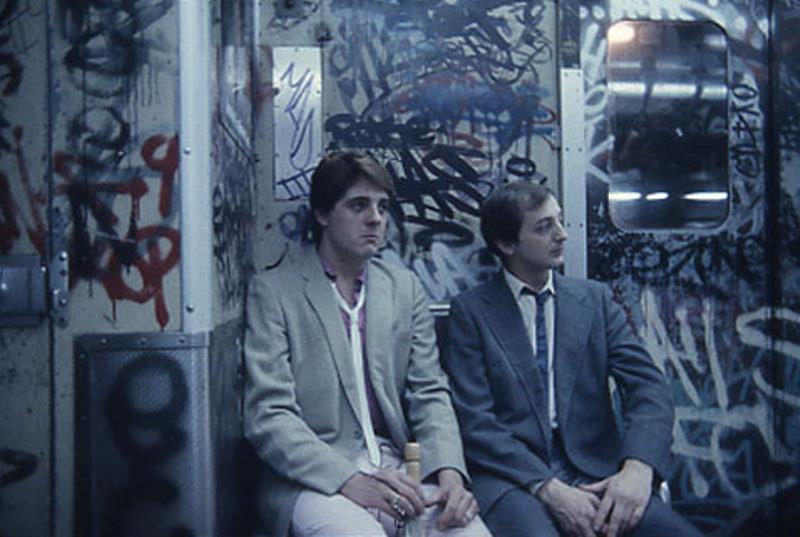 криминальное нью-йоркское метро 80-х отвратительные мужики disgusting men