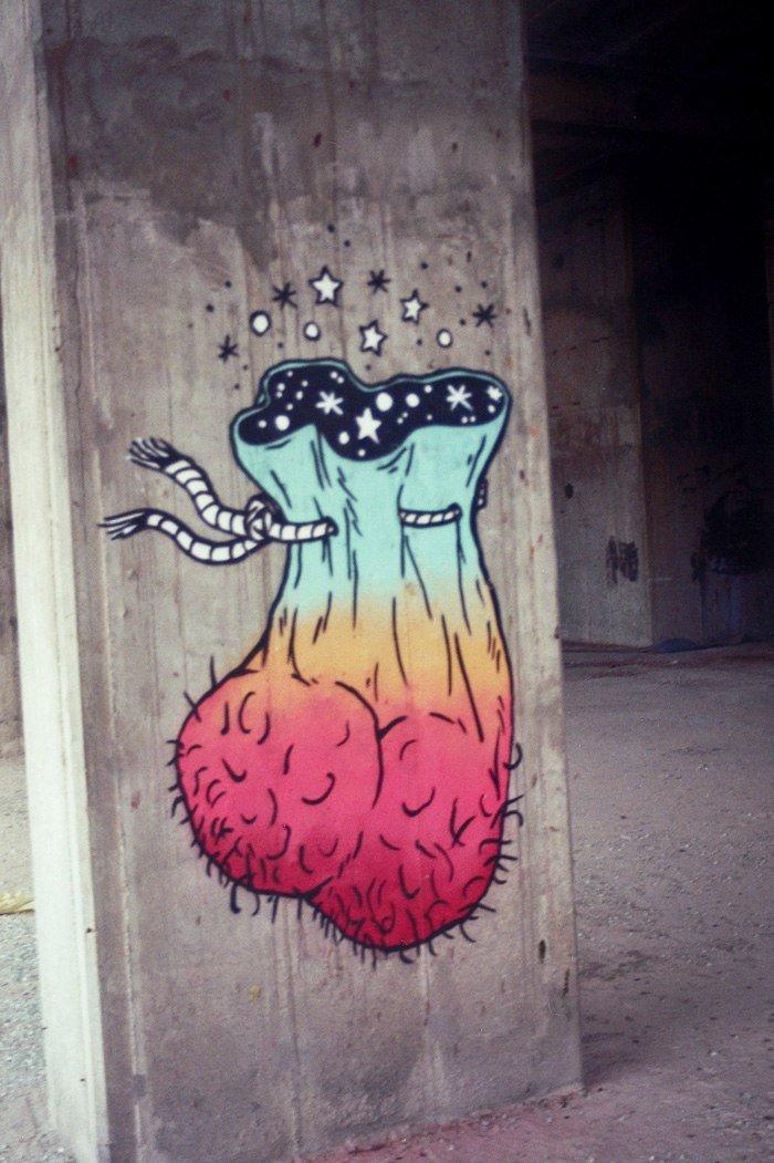 broken fingaz crew граффити арт психоделик отвратительные мужики disgusting men