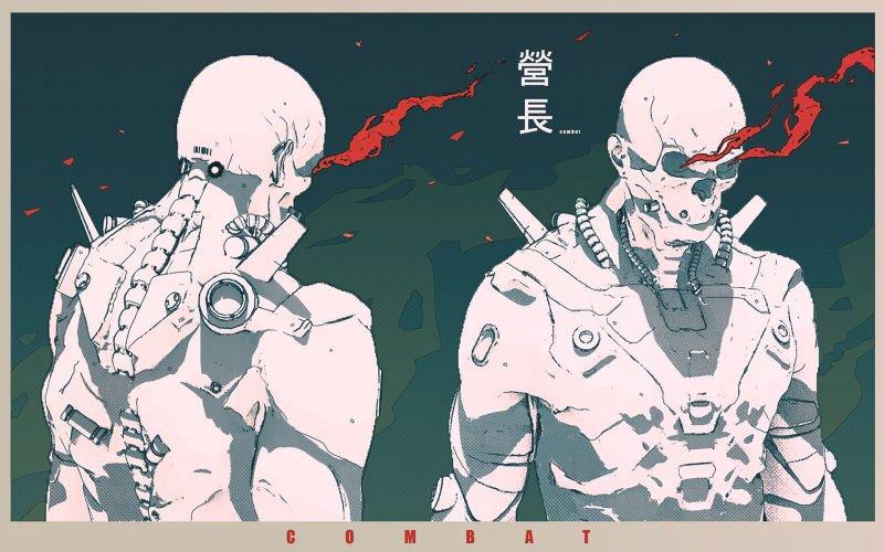 киберпанк арт cyberpunk отвратительные мужики disgusting men