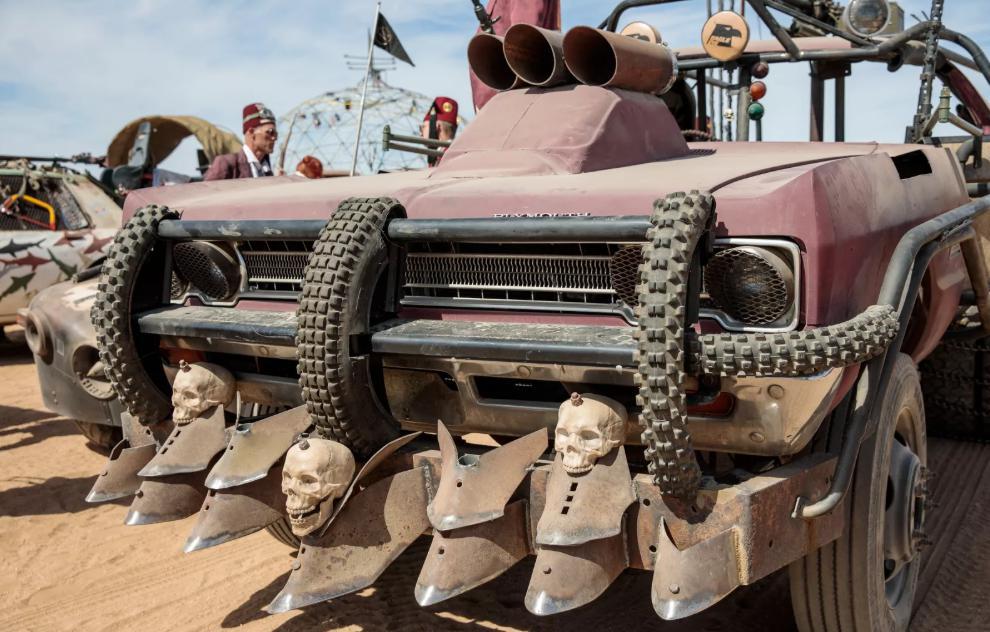 wasteland weekend 2018 фестиваль безумный макс отвратительные мужики disgusting men