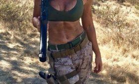 Шэннон Ирке — самая сексуальная женщина-морпех в мире