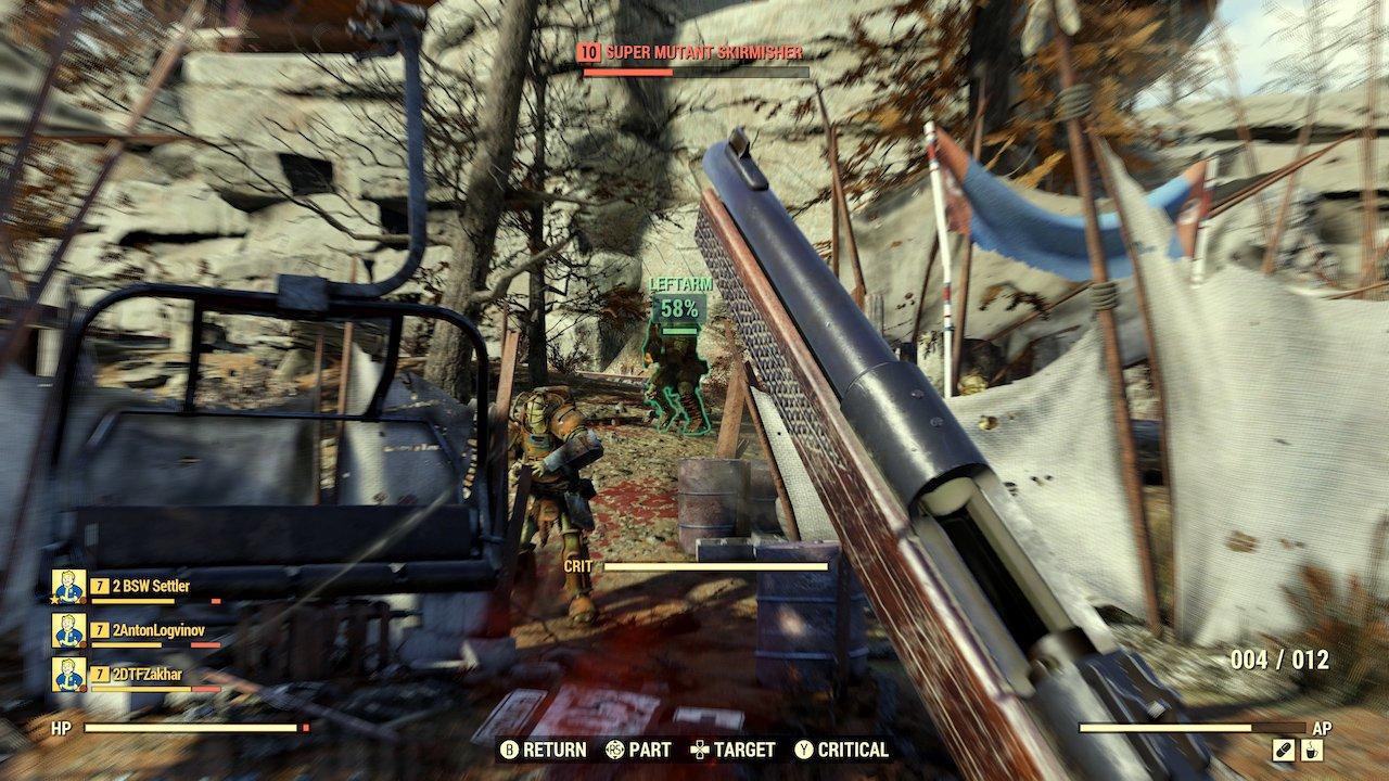 Fallout 76. Отвратительные мужики. Disgusting men