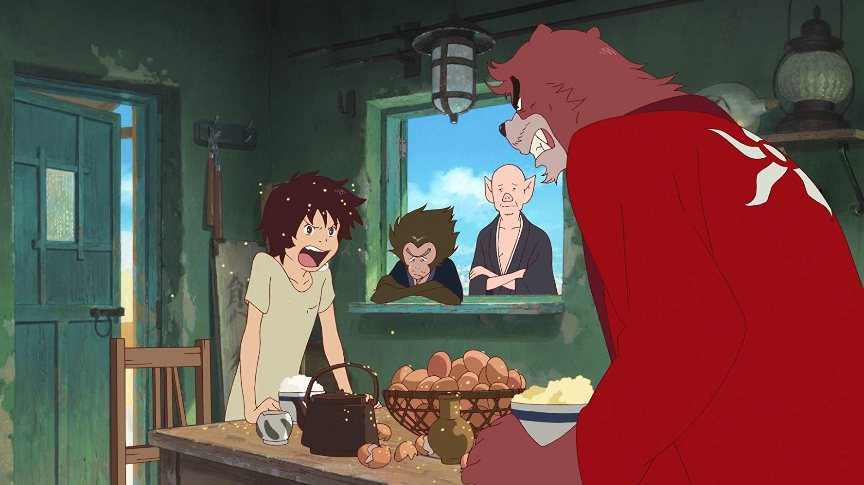 ученик чудовища аниме рецензия кино отвратительные мужики disgusting men