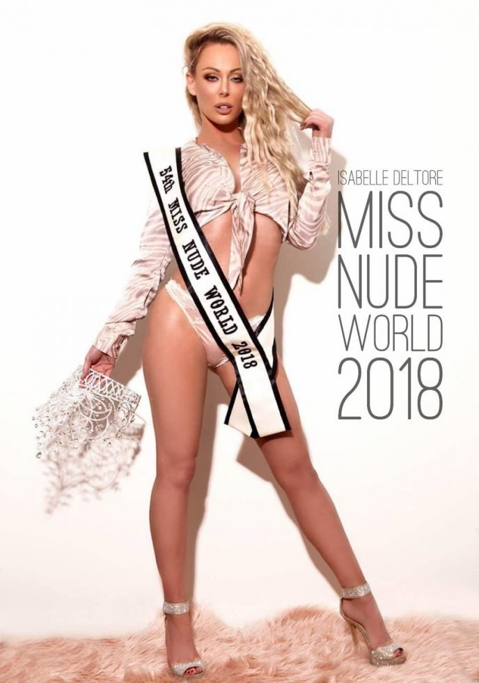 isabelle deltore изабелль делтор miss nude world 2018 disgusting men