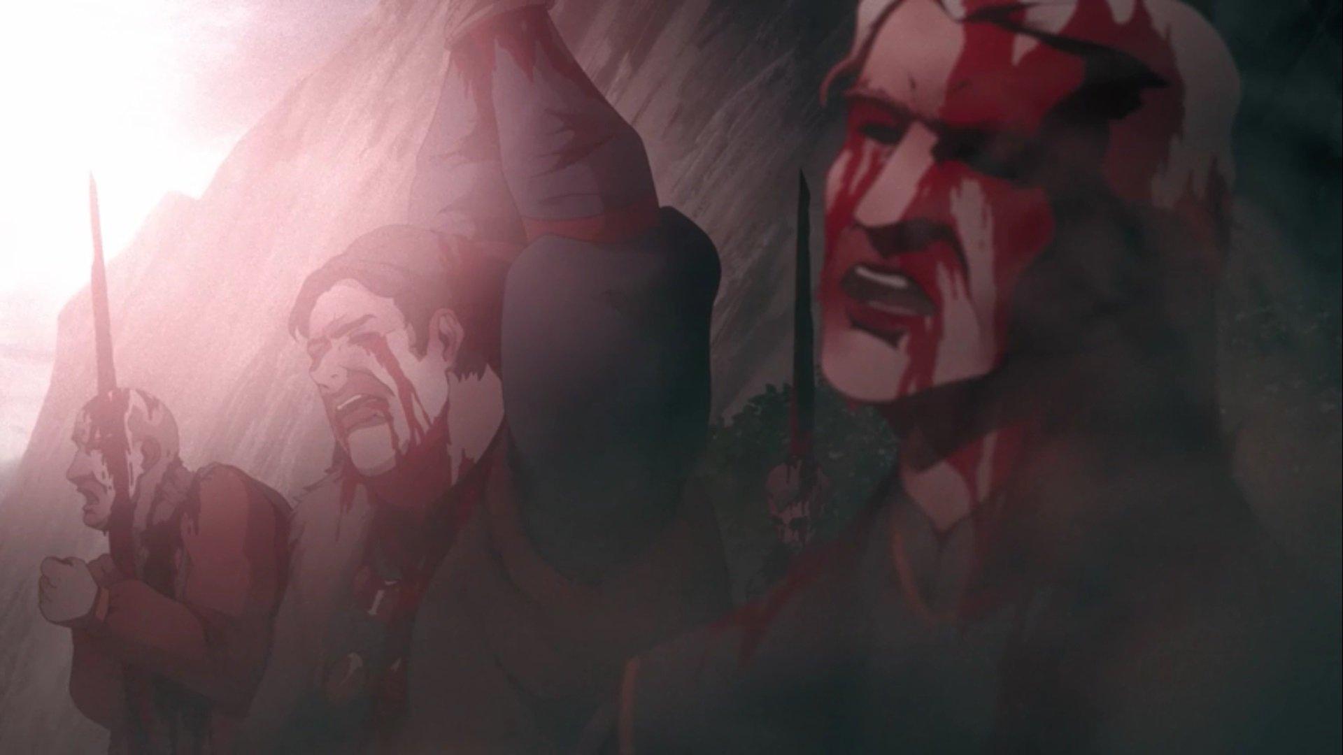 2 сезон Castlevania рецензия отвратительные мужики disgusting men