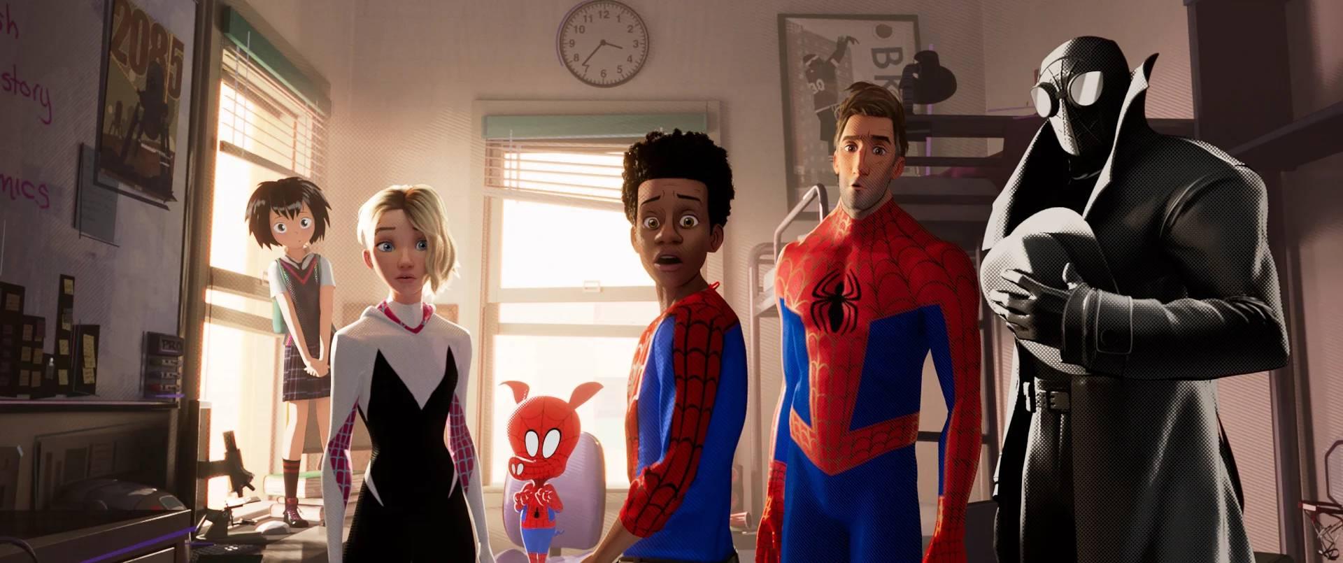 рецензия Человек-паук: Через вселенные обзор отвратительные мужики disgusting men