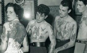 Какие татуировки делали английские домохозяйки и интеллигенты 50-х?
