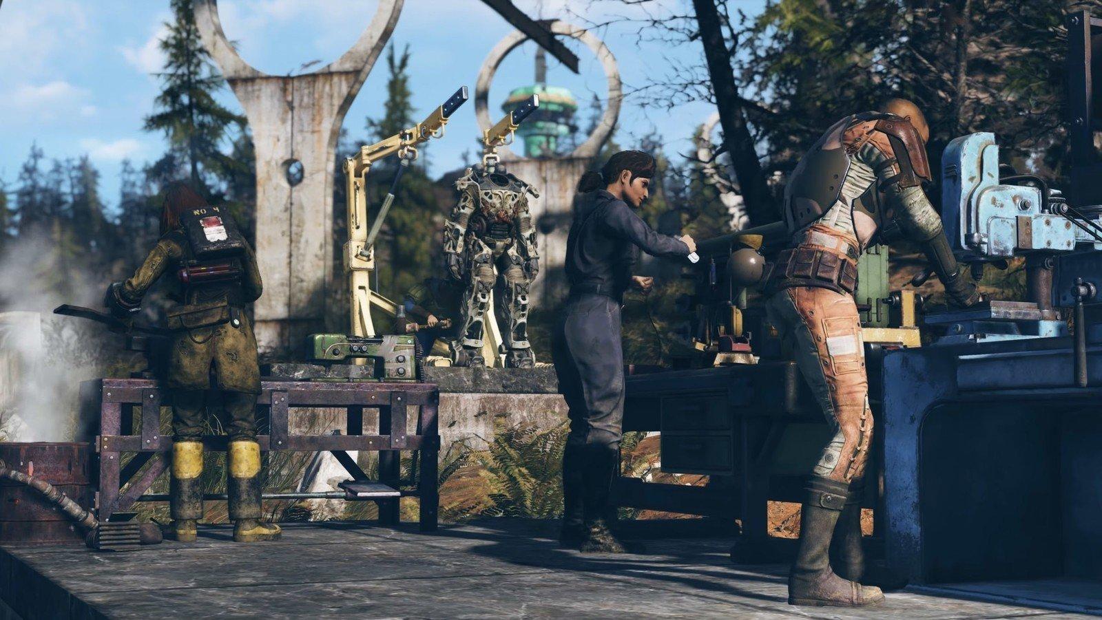 Fallout 76 Disgusting Men Отвратительные мужики