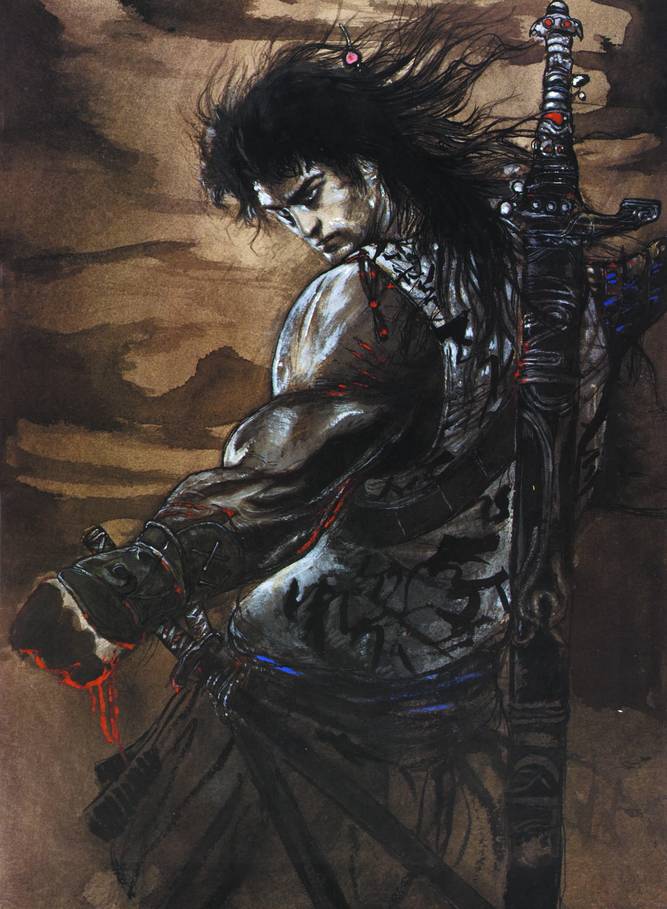 еситака охотник на вампиров арт отвратительные мужики disgusting men