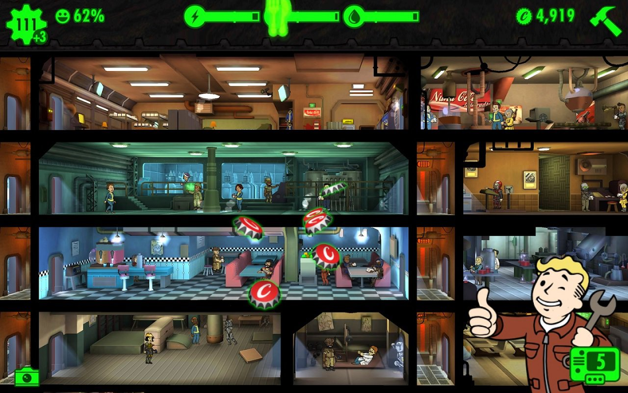Fallout Disgusting Men Отвратительные мужики Fallout Shelter