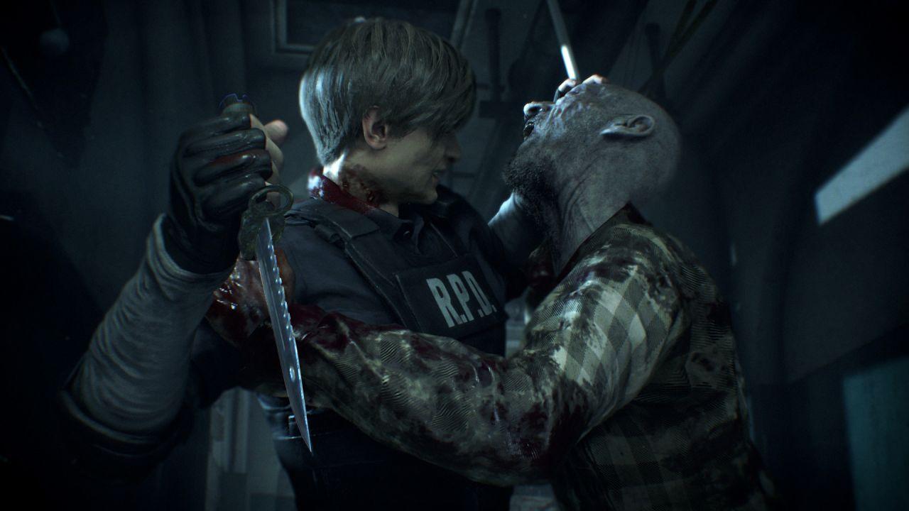 resident evil 2 remake игра отвратительные мужики disgusting men