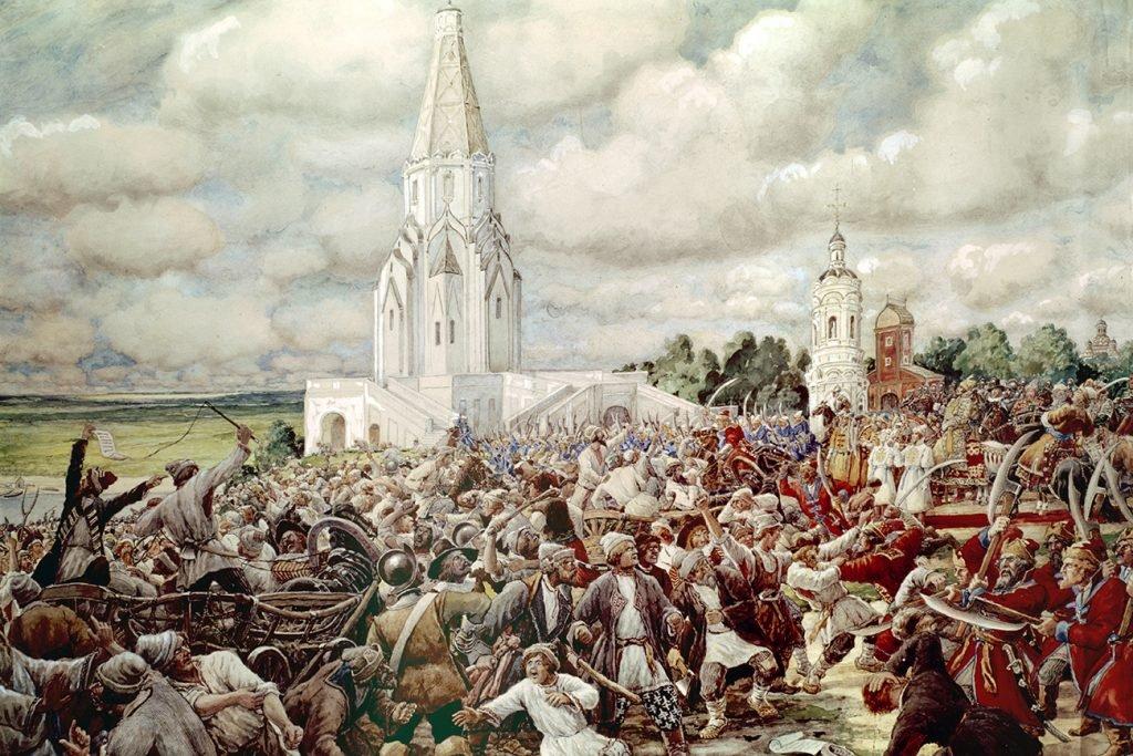 Эрнст Лисснер. Медный бунт 1662 года в Коломенском