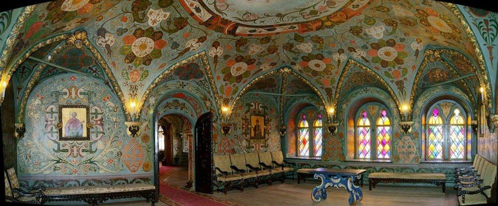 Царские хоромы в Теремном дворце Московского Кремля