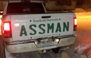 Канадцу по по фамилии Assman отказали в именном номере — но это его не остановило