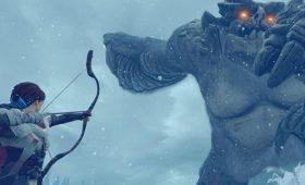 Shadow of the Colossus на западный лад. Превью Praey for the Gods