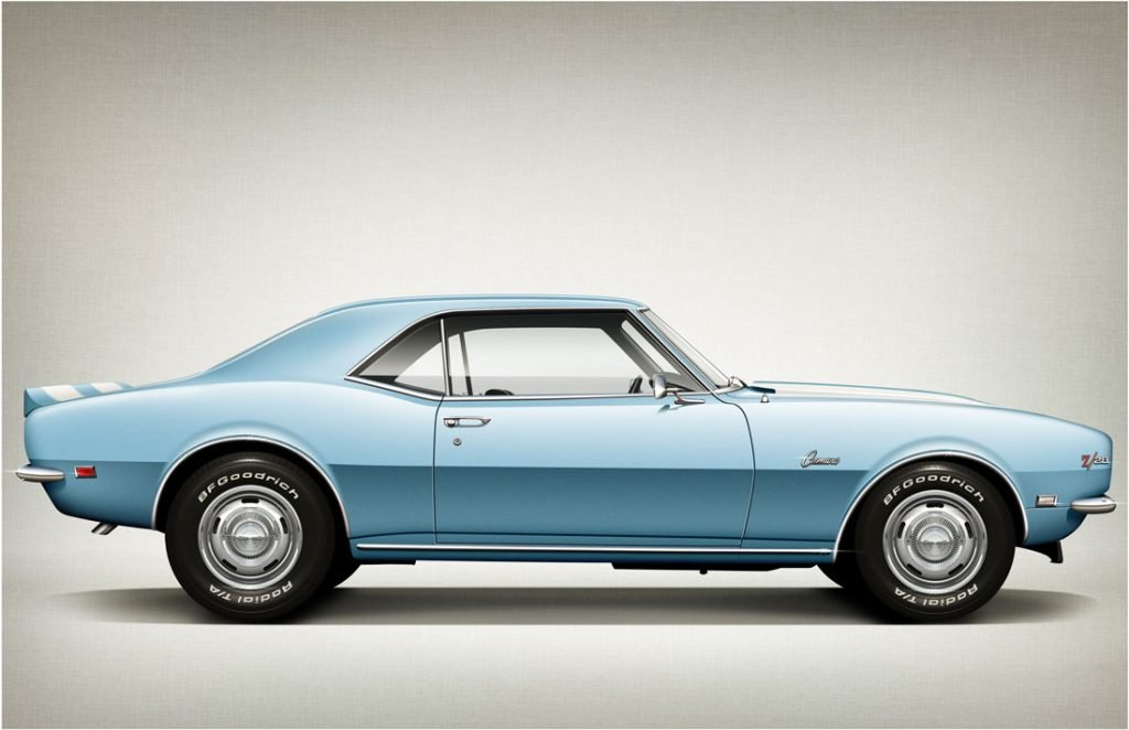 Chevrolet Camaro Z28, 1968