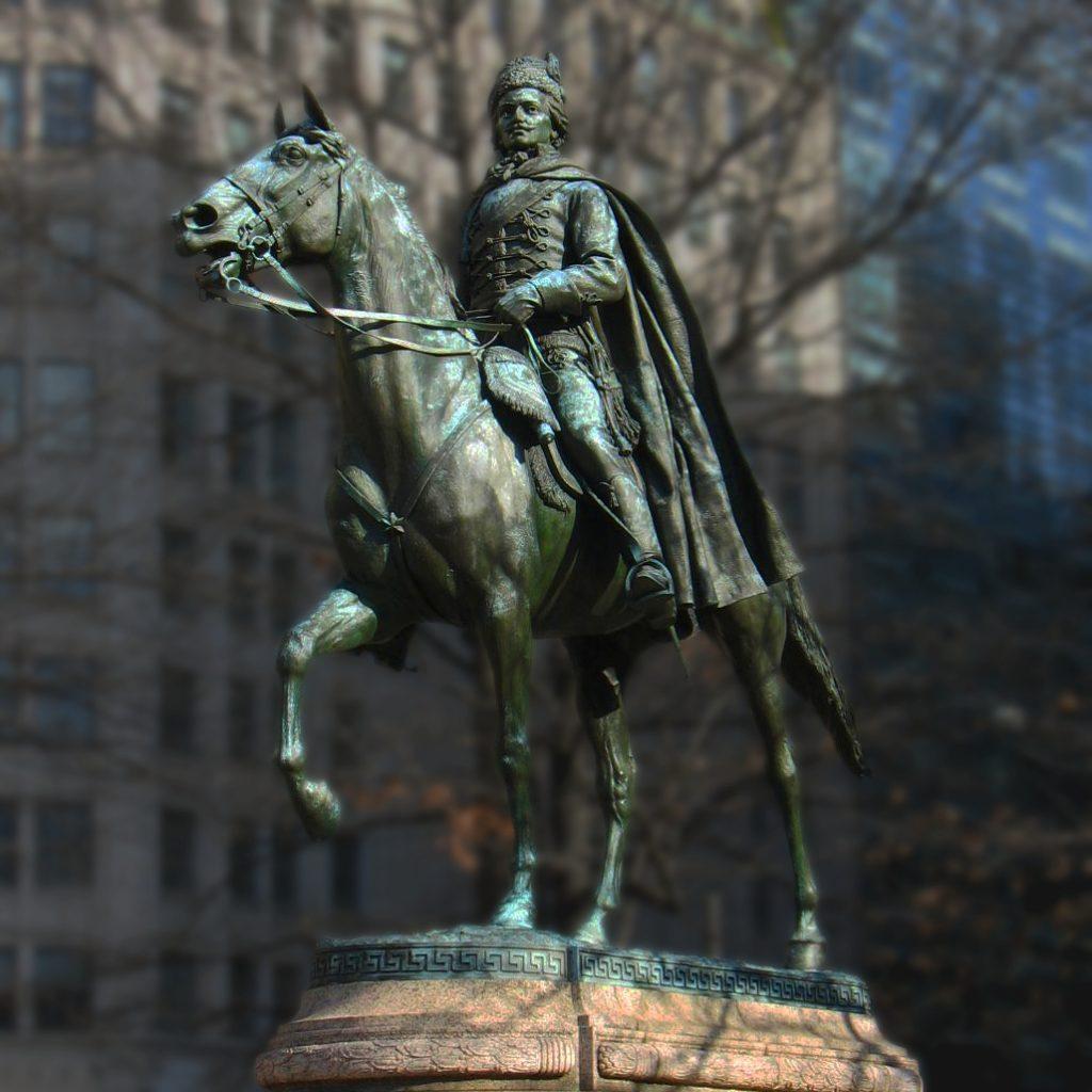 Памятник Пулавскому
