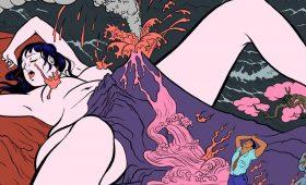 Странно и сексуально — вызывающие аниме-иллюстрации Pigo Lin