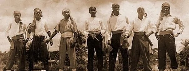 Семеро первых «пиратов» в 1952 году