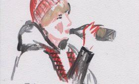 Запрещенное искусство: рисунки из чебуречной  «Дружба»