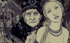 Сексуальные демоны Азии и мрачная эротика Руси: графика Вани Журавлева