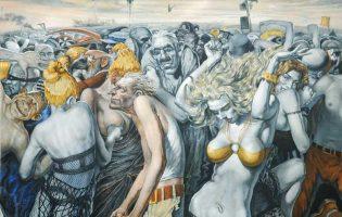 Дикая и разудалая пятница на картинах Валерия Беленикина
