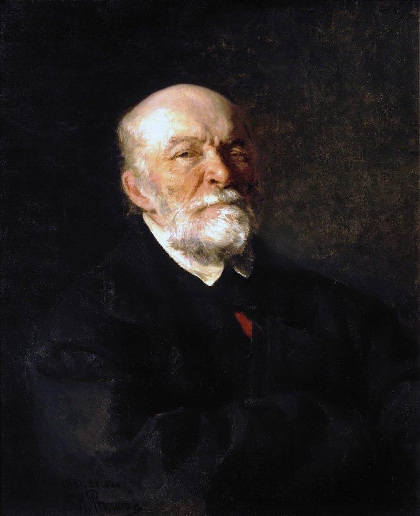 Портрет Николая Ивановича Пирогова кисти Ильи Репина
