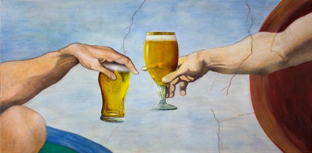 другие картинки пиво бога засыхают