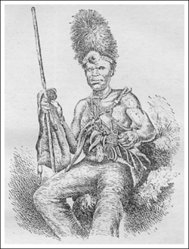 Воин племени макололо