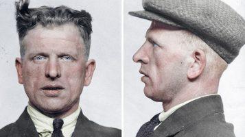 Настоящие отвратительные мужики. Фото преступников 30-х и их досье