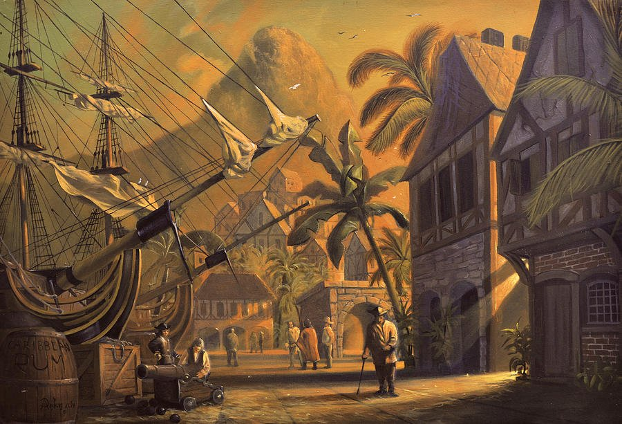 Конец пиратского рая. История землетрясения в городе Порт-Ройал