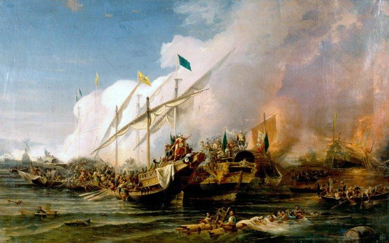 Сражение при Превезе. Умед Бехзад, 1866