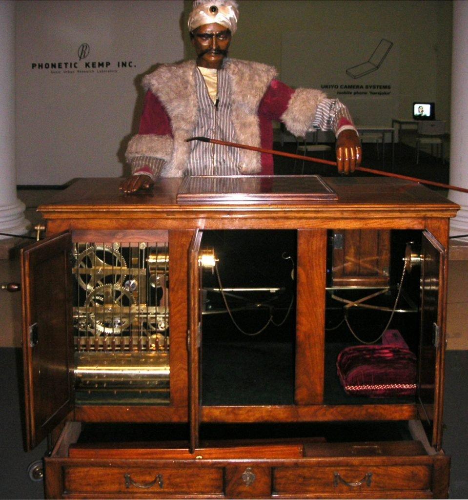 Поздняя реконструкция автомата фон Кемпелена