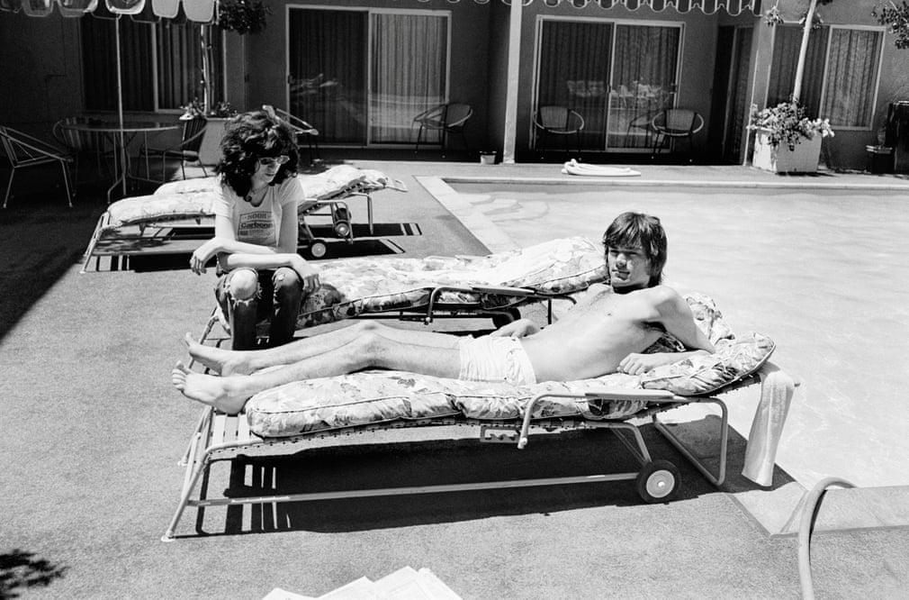 Joey Ramone In Smoke By Drew Carolan