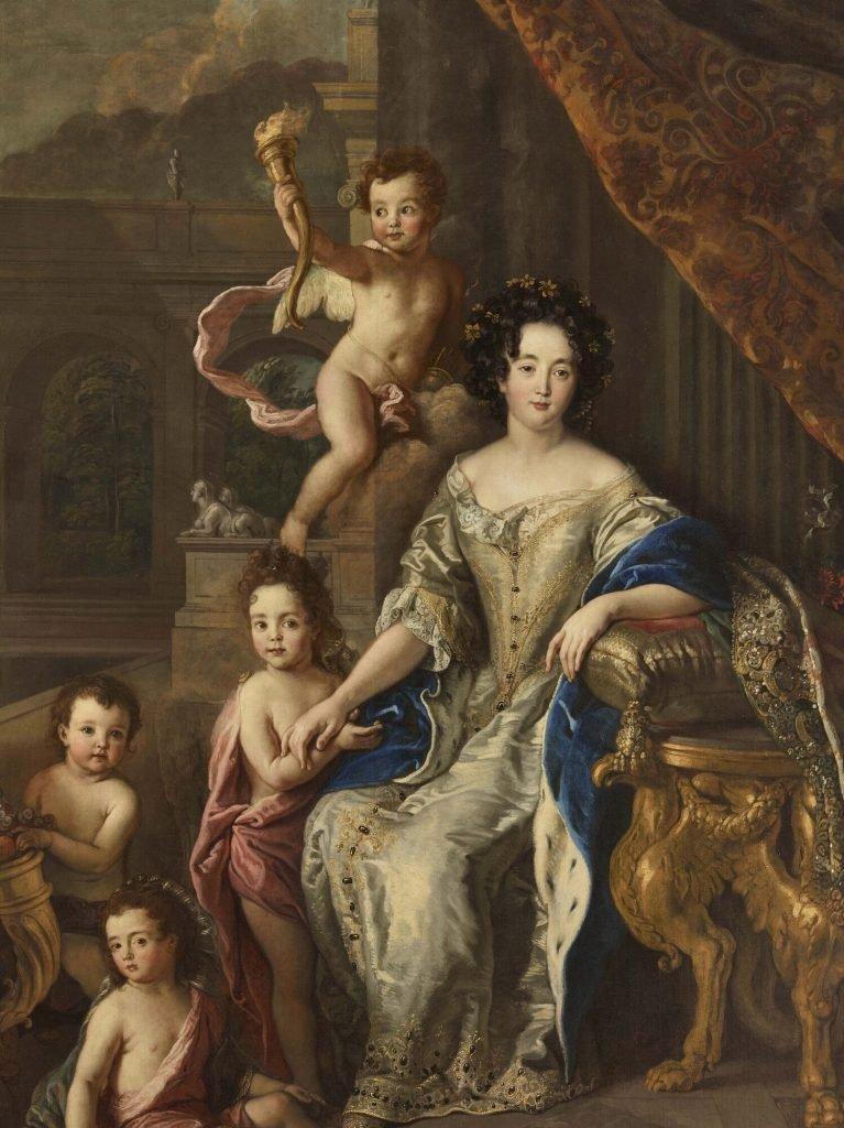 Мадам де Монтеспан с детьми от короля