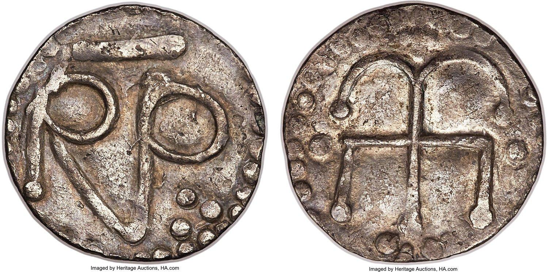 Монеты Пипина Короткого.