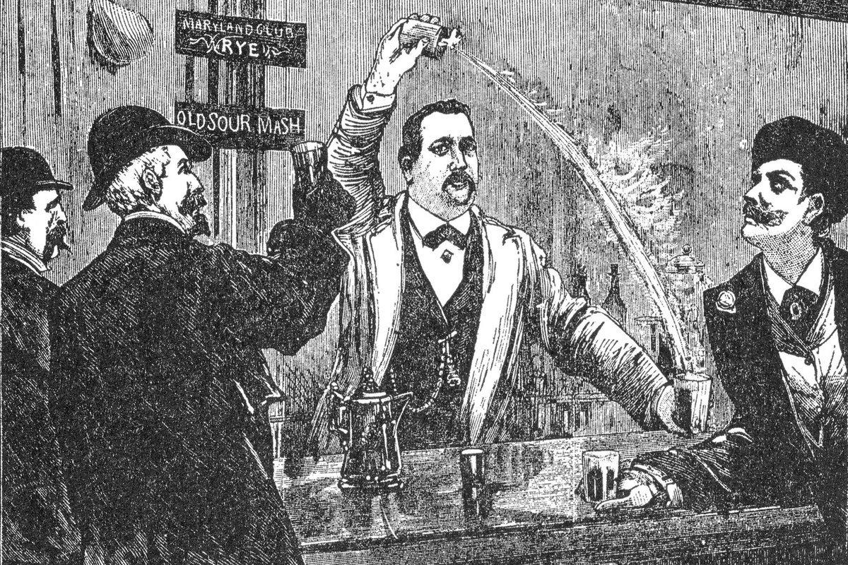 джерри томас первый бармен бонвиван отвратительные мужики disgusting men