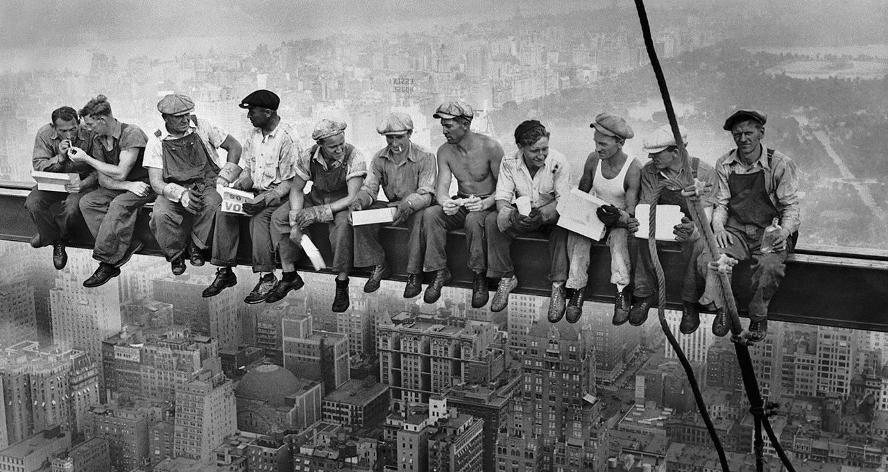 строители небоскребов фото отвратительные мужики disgusting men