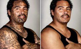 Бандитские татуировки: до и после
