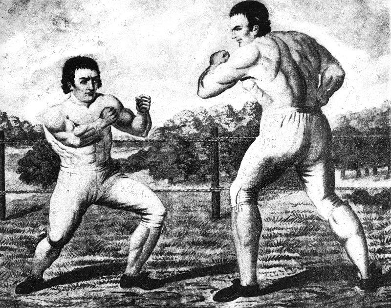 Исаак Перринс против Тома Джонсона