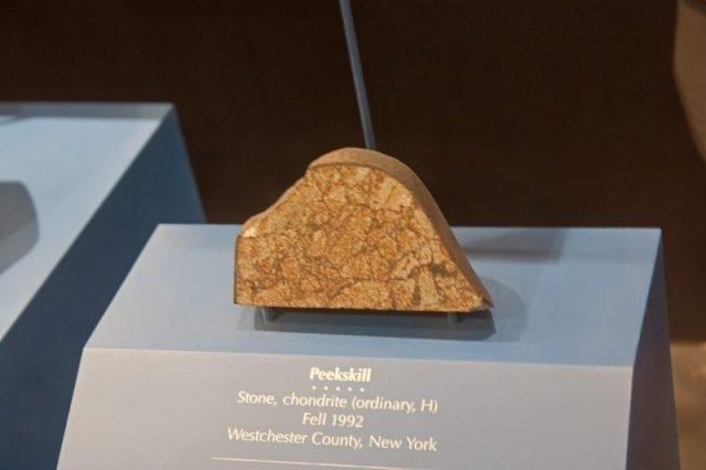 Кусок метеорита из Пикскилла