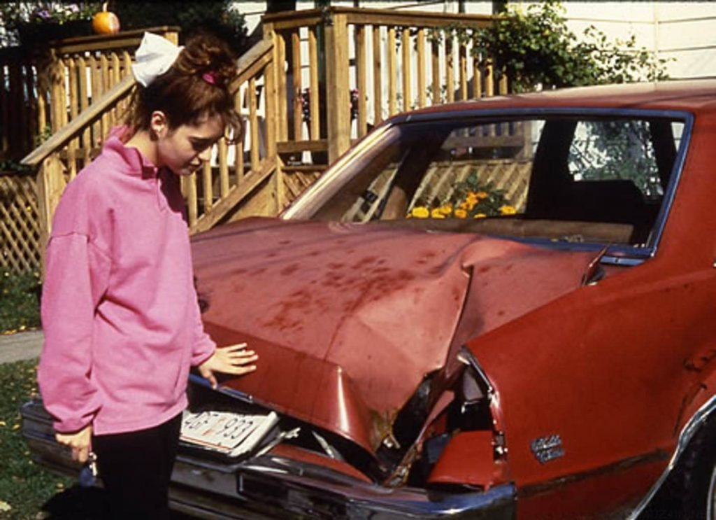 Мишель Кнапп и ее Chevy Malibu 1980-го года