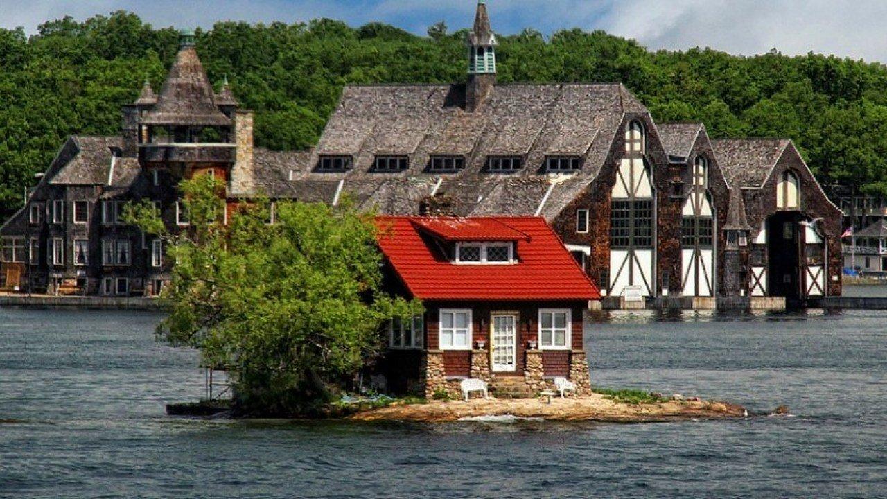 just room enough island рай интроверта:самый маленький обитаемый остров в мире