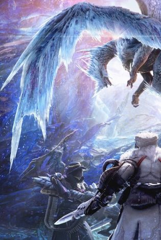 Зимняя охота: текстовый квест от Disgusting Men и Monster Hunter World: Iceborne